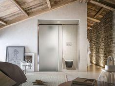 Soluzioni doccia integrate nell'architettura del bagno