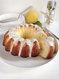 Bundt cake al bergamotto