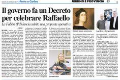 RT @camillafabbripd: Sul @Carlino_Pesaro il ddl per le celebrazioni 500 anni morte #Raffaello e la mia interrogazione per Lettera Leone https://t.co/lmV1l1DlWA