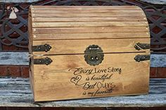 Every Love Story is Beautiful But Ours is my Favorite - Wedding Card Box - Wedding Card Holder - Rustic Wedding Decor - Keepsake Box - Venue and reception decor (*Amazon Partner-Link)