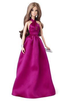 Red Carpet™ Barbie® - Magenta Gown | Barbie Collector