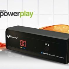 The 5LINX Powerplay 2. A bluetooth speaker and a charger for your portable devices  http://ibourl.com/188n
