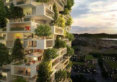 A ideia é que a estrutura, chamada de Torre dos Cedros, tenha 36 andares nos quais serão construído apartamentos. Serão plantadas mais de 100 árvores, 6 mil arbustos e 18 mil plantas ao longo de 3 mil metros quadrados de espaço verde. As plantas protegerão os apartamentos de poeira e poluição sonora, além de prover uma visão encantadora.