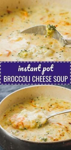 This Instant Pot Broccoli Cheese Soup is one of my favorite vegetarian instapot . - This Instant Pot Broccoli Cheese Soup is one of my favorite vegetarian instapot pressure cooker rec - Crockpot Recipes, Healthy Recipes, Keto Recipes, Instapot Soup Recipes, Dessert Recipes, Healthy Pressure Cooker Recipes, Pressure Cooker Soup Recipes, Slow Cooker, Low Carb Soup Recipes