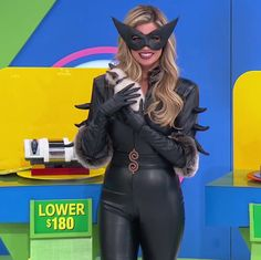 Amber Lancaster as The Purrtector - The Price Is Right (10/31/2017) ♥️