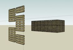pallet house (free plans), could make an awesome shed or cubby house! the materials would probably be free too