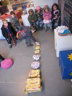 Doosjes laten inpakken en sorteren op grootte en/of gewicht