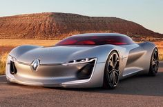 The #Renault TreZor concept is an all-electric GT. Look for full details tomorrow