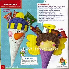 revistas de manualidades gratis Holiday Time, Christmas Time, Merry Christmas, Xmas, Christmas Crafts For Kids, Christmas Decorations, Nativity, Snowman, Elephant