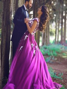 Long Prom Dress, 2017 Prom Dress, Purple prom dress, Unique prom dress, Party Prom Gowns, Prom Dress Ball Gown, Prom Dresses. PD015039