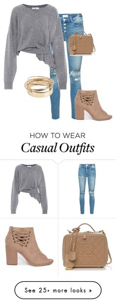 """""""Casual Wear"""" by isenseconflict on Polyvore featuring Mother, Balenciaga and Valentino"""