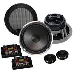"""American Bass Symphony 6.5"""" Component 250W Max  Price: & FREE Shipping 3 Year Warranty on Android units!!! #android"""