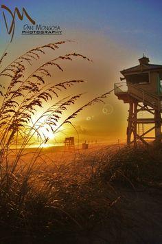New Smyrna Beach, Florida - Lifeguard Tower