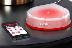 Control Your House From Your Smartphone With Revolv for iOS is part of Science Facts Tech Gadgets - Is home automation the next step in a digital lifestyle Touch Screen Technology, Home Technology, Latest Technology, Technology Articles, Technology Gadgets, Home Automation System, Smart Home Automation, Garage Lighting, Wireless Security