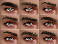 image Sims 4 Body Hair, Sims 4 Hair Male, Sims 4 Body Mods, Sims 4 Black Hair, Sims 3, Sims Four, Los Sims 4 Mods, Sims 4 Game Mods, Sims 4 Cc Eyes