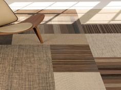 Recycled spun vinyl w2w flooring, mats, rugs, place mats by Sandy Chilewich, simply brilliant and beautiful