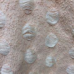 bellbelleee:#woven #textiles #weave #polka #dot