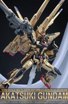MODELER: Infinite_Dimension MODEL TITLE: N/A MODIFICATION TYPE: custom paint job, custom details KITS USED: DM 1/100 Akatsuki Gundam O...