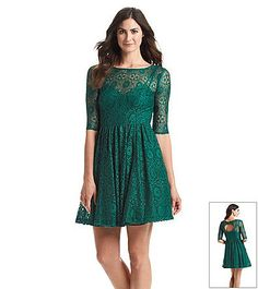 Plenty by Tracy Reese Lace Fit And Flare Dress | Bon-Ton