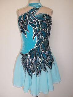 Custom Made to Fit Ice Skating Baton Twirling Dress   eBay