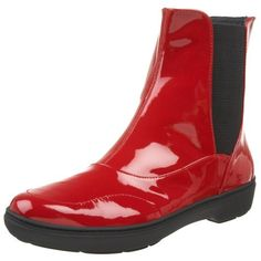 """Sperry Top-Sider Women's Shorewood Boot,Red Patent,9 M US Sperry Top-Sider. $51.42. Rubber sole. Platform measures approximately 3/4"""" . Shaft measures approximately 6 1/2"""" from arch. Synthetic and leather. Boot opening measures approximately 11"""" around. Heel measures approximately 1 1/4"""". Made in China"""