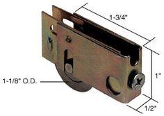 CRL Sliding Glass Door Roller with Steel Wheel Wide Housing for Better-Bilt Doors Thing 1, Home Hardware, Patio Doors, Sliding Glass Door, Locks, Commercial, Industrial, Steel, Products