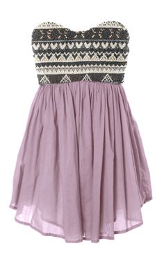 love this dress for summer... make it longer in the back and short in the front