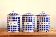Vintage French enamelware