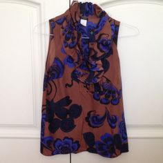 J. Crew Silk Blouse Adorable silk blouse perfect for spring and summer in perfect condition! Price is negotiable-all offers considered!! J. Crew Tops Blouses
