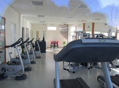 Fitness-Studio im Ferienpark