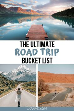 Click here for a list of the best road trips in the world to add to your travel bucket list. Get 13 road trip ideas for the USA, Europe, and more! #roadtrip #bucketlist #travel | worlds best road trips | best road trips around the world | best road trips in america | best road trips in north america | best road trips in europe | best road trips in america west coast | best road trips in the us | best vacation spots in the us road trips | bucket list destinations | bucket list travel Road Trip Packing, Us Road Trip, Road Trip Hacks, Packing List For Travel, Travel Tips, Travel Abroad, Travel Hacks, Travel Guides, Bucket List Destinations