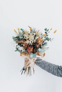 Belles fleurs de mariage #weddingbouquets #weddingflowers
