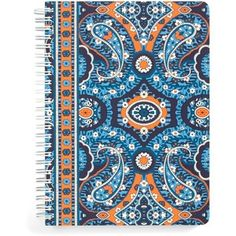Vera Bradley Notebook with Pocket in Marrakesh