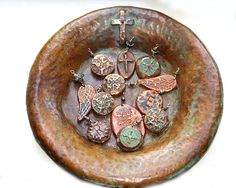 Love Whitney's copper charms and Home Collection. What a great look for fall!!