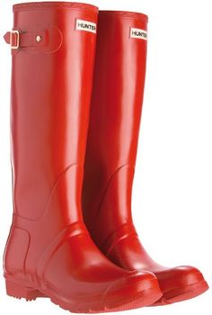 ooh...or the red hunter wellies