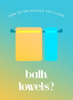 How often you should clean your tv remote and the right How often to wash bath towels