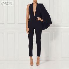 ec6725308600 17 Best Black Strapless Jumpsuit images