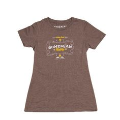 Bohemian Honey - Womens Tee. This classic fit t-shirt is made with the perfect blend of fabric for style and comfort. bohemianguitars.com
