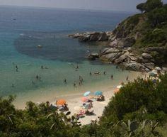 Camping aan zee in Toscane, San Vincenzo   Park Albatros