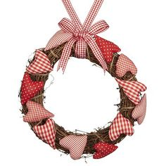 Churby little valentine hearts Christmas Is Coming, Christmas Time, Christmas Crafts, Christmas Decorations, Christmas Ideas, Wreaths And Garlands, Holiday Wreaths, Decor Crafts, Diy Crafts