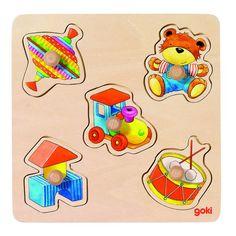 Puzzle 5 piese ursulet, titirez, toba, tractor, cuburi cu butoni ideal pentru micii jucatori. Puzzle-ul contine cinci piese cu butoane reprezentand diferite motive. Dezvolta rabdarea, concentrarea si precizia. #montessori #montessoritoys #montessorimaterials #montessoriactivities #montessoriacasa #montessoriathome #montessorichild #montessoritoddler #jucariieducative #jucariilemn #jucariidinlemn #activitatimontessori #activitaticopii #jucariidinlemneducative #jucariiidelemn #jucarii