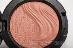 MAC Blazing Haute In Extra Dimension Blush Review, Swatches, Photos