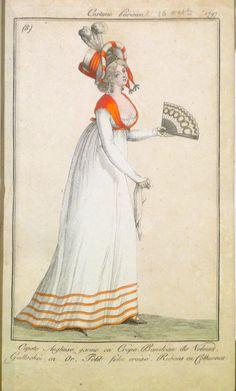 Journal des Dames et des Modes, 'Costumes Parisiens', 1797 - 1842