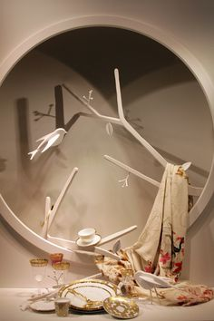 ♂ Commercial space retail store design visual merchandising window display Hermes display via Modelizing. Window Display Design, Shop Window Displays, Store Displays, Retail Displays, Visual Merchandising Displays, Visual Display, Boutiques, Hermes Window, Vitrine Design