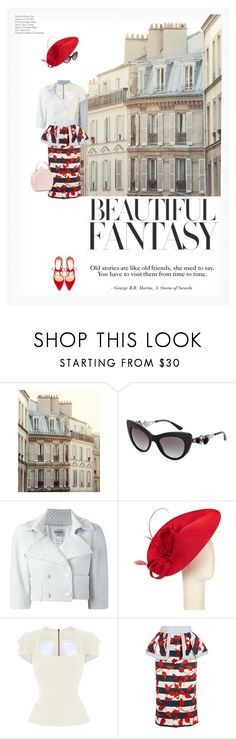 """""""BEAUTIFUL FANTASY"""" by paint-it-black ❤ liked on Polyvore featuring Shabby Chic, Dolce&Gabbana, Chanel, John Lewis, Roland Mouret, Johanna Ortiz, Nancy Gonzalez and Jimmy Choo"""