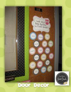 Owls and Polka Dots Door Decor (PreK-3)