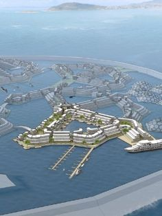 US seasteading group plans floating 'microcountries' with 'start-up governments'