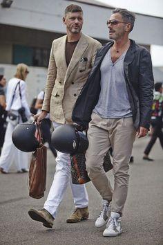 stylish gentlemen