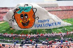 Not Scared of Halloween. Then have a Happy One! Check out The UT Dry Erase Rock as a Float.