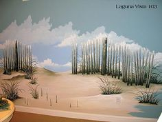 Another wall mural for the beach house